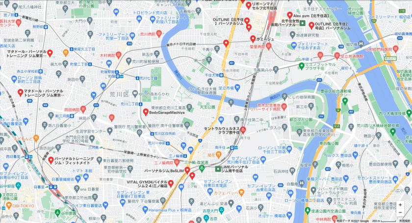 【南千住】南千住駅周辺のおすすめフィットネスジム・パーソナルトレーニングジムをご紹介!