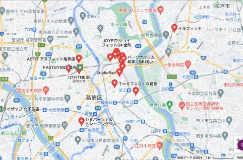 【金町】金町駅周辺のおすすめフィットネスジム・パーソナルトレーニングジムをご紹介!