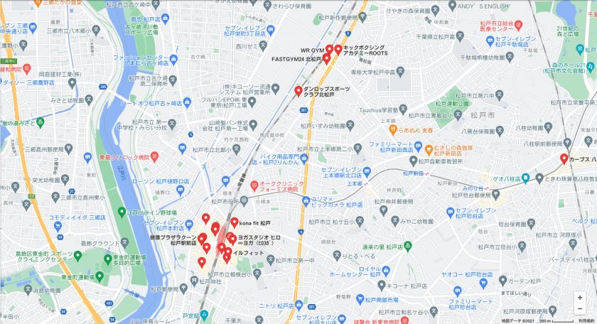 【北松戸】北松戸駅周辺のおすすめフィットネスジム・パーソナルトレーニングジムをご紹介!