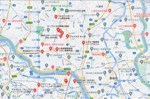 【竹の塚】竹の塚駅周辺のおすすめフィットネスジム・パーソナルトレーニングジムをご紹介!