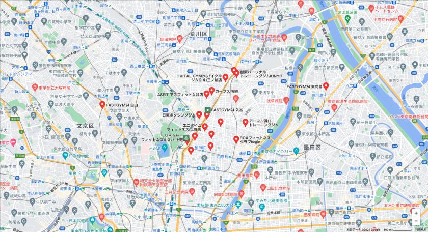 【入谷】入谷駅周辺のおすすめフィットネスジム・パーソナルトレーニングジムをご紹介!