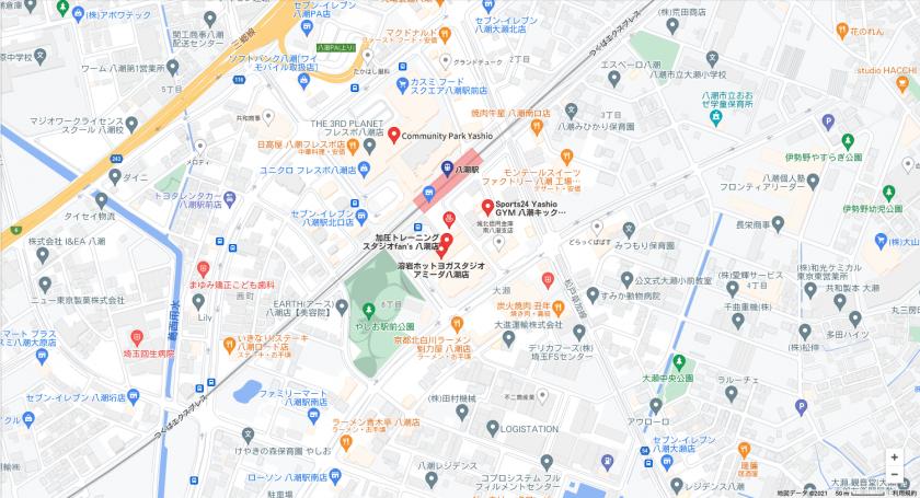 【八潮】八潮駅周辺のおすすめフィットネスジム・パーソナルトレーニングジムをご紹介!