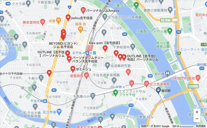 【堀切】堀切駅周辺のおすすめフィットネスジム・パーソナルトレーニングジムをご紹介!