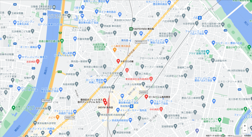 【東向島】東向島駅周辺のおすすめフィットネスジム・パーソナルトレーニングジムをご紹介!