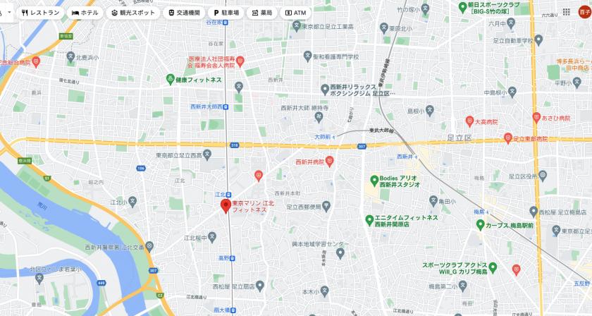 【江北】江北駅周辺のおすすめフィットネスジム・パーソナルトレーニングジムをご紹介!